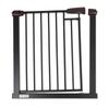 Baby Safe Metal Gate Black/Brown