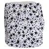 Babyco Reusable Cloth Nappies Black Stars