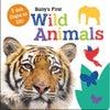 Baby's First Wild Animals Felt Flap Book
