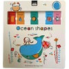 Clever Sliders Ocean Shapes Book