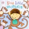 Little Learners Finger Puppet Book Five Little Monkeys
