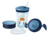 NUK Evolution Cup - Learn to Drink Set 230ml Blue