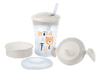 NUK Evolution Cup - Learn to Drink Set 230ml Neutral