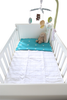 Brolly Sheet Waterproof Cotton Quilted Mattress Protector Cot