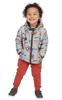 Ricochet Kids Reversible Padded Jacket Digger/Charcoal