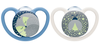 NUK Space Night Silicone Soother 2-Pack 18-36m