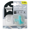 Tommee Tippee Ultra-Light Silicone Soother 0-6m 2-Pack