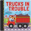 Tyre Tracks: Trucks in Trouble Board Book